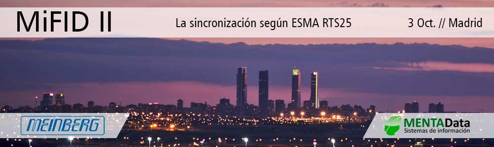 MIFID II Seminario Madrid ESMA RTS25