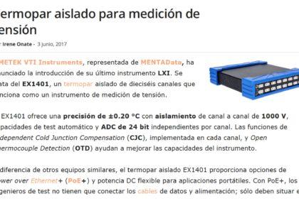 EX1401 Termopar aislado para medición de tensión -VTIInstruments