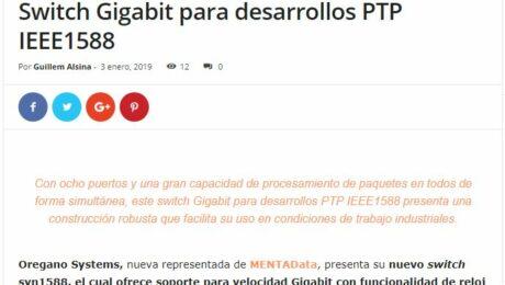 Oregano Switch PTP 2ns